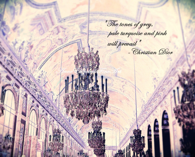 Christian Dior QuoteVersailleParis PhotographyPink