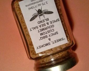 Sweet, Smokey & Spicy BBQ Herb, Spice and Sea Salt Blend