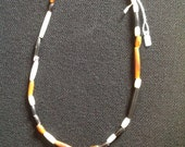 Native american beads from Oregon warm springs
