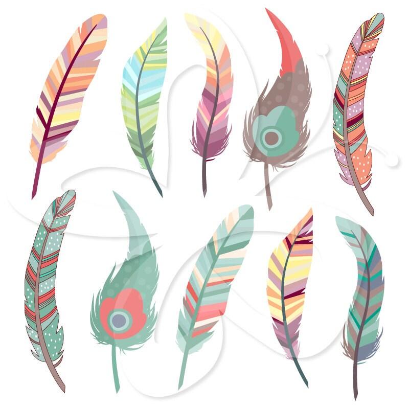 Purple Peacock Feather Clip Art Beautiful Feathers Clip Art
