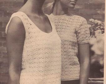 INSTANT DOWNLOAD 4 Vintage Crochet  Pattern , pdf crochet pattern, pdf pattern ,