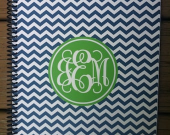 Personalized Monogrammed Notebook - Design Your Own