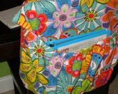 BRIGHT FLOWERS Classroom Chair Pocket School Cover STD - CoffeeKidsNDolls