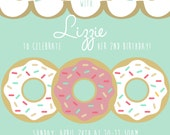 Donut Party Invitation Only