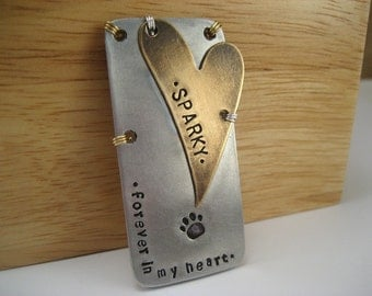 Unique Pet Memorial Magnet - Pet Lover Gift - Pet Memorial Gift - Memorial Magnet - Pet Keepsake - Metal Magnet