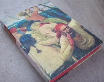 Treasure Island by Robert Louis Stevenson  Copyright 1947  Illustrated Junior Library Edition