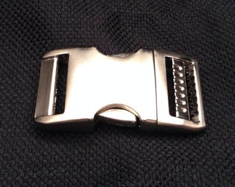 "1"" Metal Buckle Upgrade for Paracord Collars ONLY"