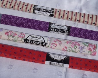 Fat Quarters Calico Print Fabric New Makings Brand