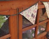 Farmyard animals bunting featuring pigs, cows and sheep