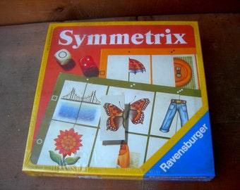 Vintage memory game symmetrix