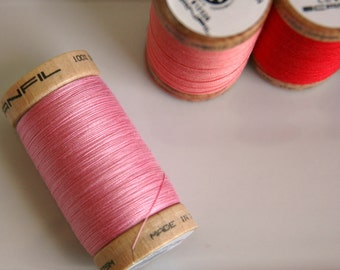 ORGANIC Cotton Thread in Carnation  - GOTS Certified - 4809