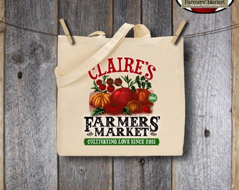 Farmers' Market Party - Garden Birthday Shower - Iron On Transfer - Printable (Canvas Shopping Tote Bag, Shirt, Farm Fresh, Seed Packet)