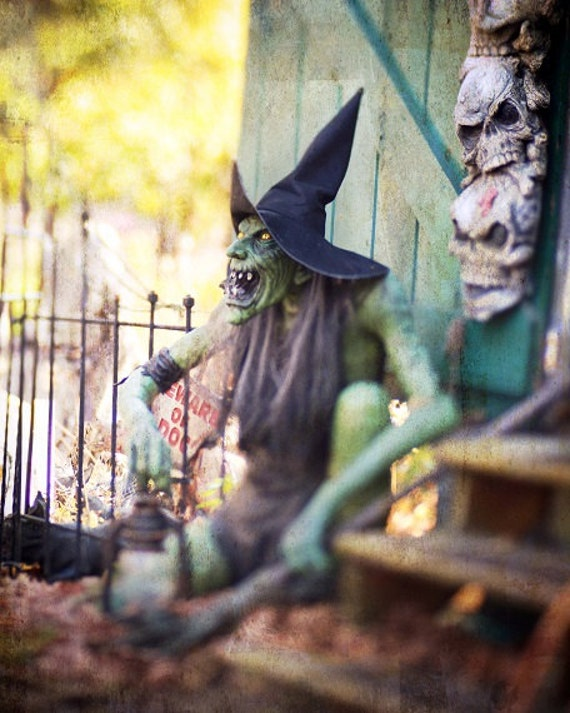 Halloween Witch Green Witch Spooky Scary Evil Dark Photography October ...