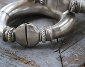 Antique Silver Rajasthani bracelet set