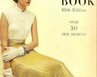 PDF Vogue Knitting Book  - 10th Edition 1940's Retro Fashions -  Instant Download