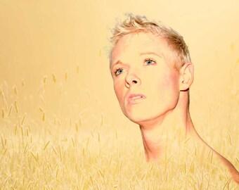 Impact Gay Art Male Art Photo Print by Michael Taggart