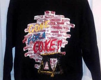 Vintage 1980s Gone for a Coke COCA COLA sweatshirt
