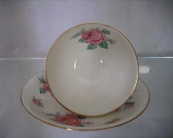 Adderley Floral Teacup