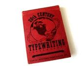 vintage/antique 20th Century Typewriting book 1942