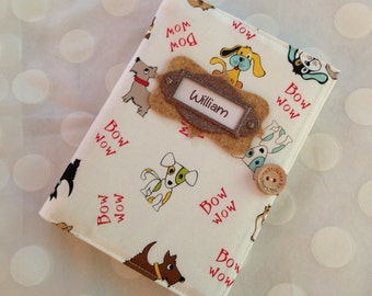 Brag Book  Personalized Photo Album holds 48 Photos -  Dogs and Puppies