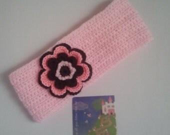 Headband Crochet Girls Earwarmer Headwrap Crochet Girls Headband Ear Warmer Headband Headwrap Headband Ear warmer flower gift under 15