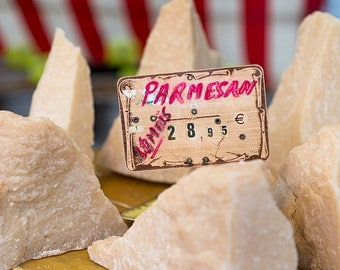 Paris Food Photography - Cheese at Paris Market, French Kitchen Decor, Large Wall Art