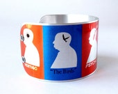 ALFRED HITCHCOCK Profile Movie Poster Photo Cuff Bracelet