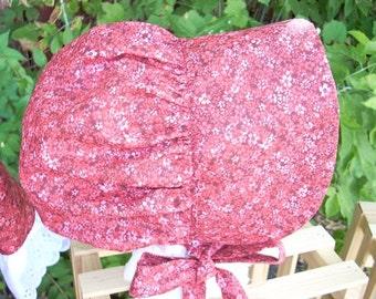 Bonnet Burgundy Confetti Floral One Size