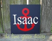 Personalized Nautical Sign