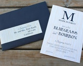 Printable Invitations- Bluegrass and Bourbon Party by Bloom