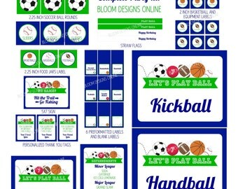 Let's Play Ball Complete Party Kit by Bloom