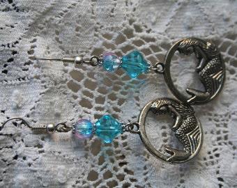 MERMAID - Pretty Silver Earrings