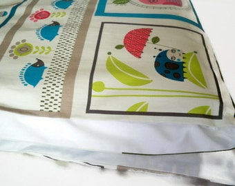 Toddler Duvet Cover, Crib Duvet Cover, Nursery Bedding - Choose Your Size And Color - Critter Community, Forest Animals