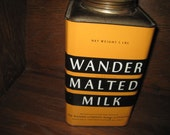 Vintage Wander Malted Milk Tin - Makers of Ovaltine
