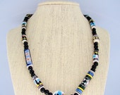 Necklace With Ceramic Mexican Beads