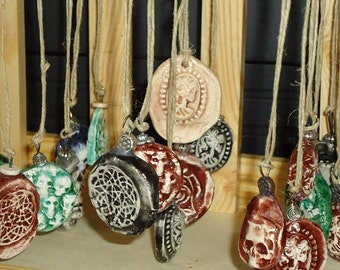 Hand Crafted Ceramic Necklaces