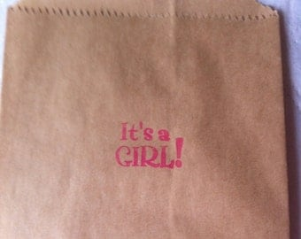 200 It's a Girl  OR It's a Boy candy table bags
