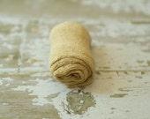 Newborn Wrap, Knit Stretch Fabric, Photography Prop, Knit Stretch Wrap, Ready to Ship, Newborn, Baby, Boy, Girl - Straw