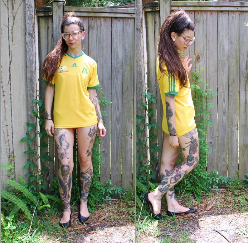 South Africa 2017/18 Away Shirt Soccer Jersey ...  South Africa Soccer Jersey