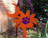 Clemson South Carolina Palmetto Sign--Can be Personalized