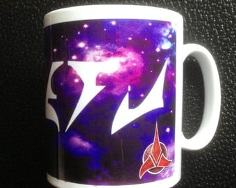 Your Name in Klingon Personalised Star Trek Mug