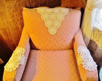 Crochet Chair Back Headrest Patterns Free Crochet Patterns