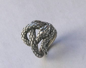 snake silver ring 925 from YK Studio