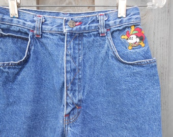 """Your Mothers Jeans with """"Mickey"""""""