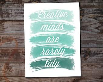 Creative Minds - Art Print