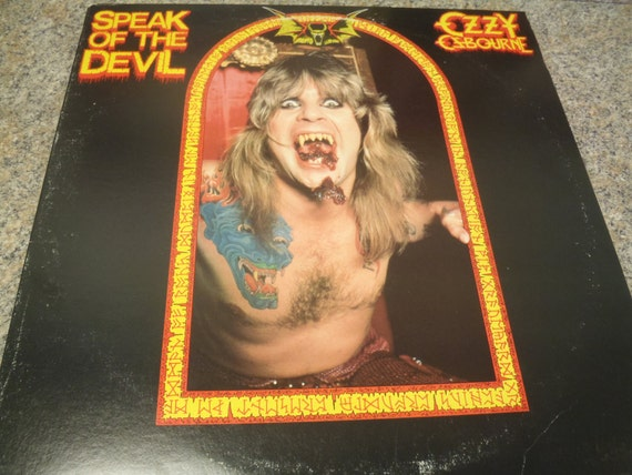 vinyl lp ozzy osbourne speak of the devil by internetrecords. Black Bedroom Furniture Sets. Home Design Ideas