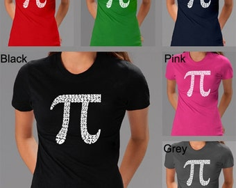 Women's T-shirt - Created using The First 100 Digits of Pi