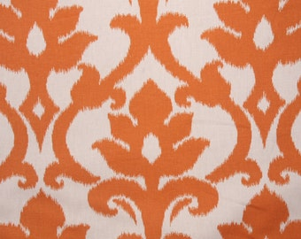 Single Pillow cover 18x18 inch - Free US Shipping - Richloom Azurro in Tangerine