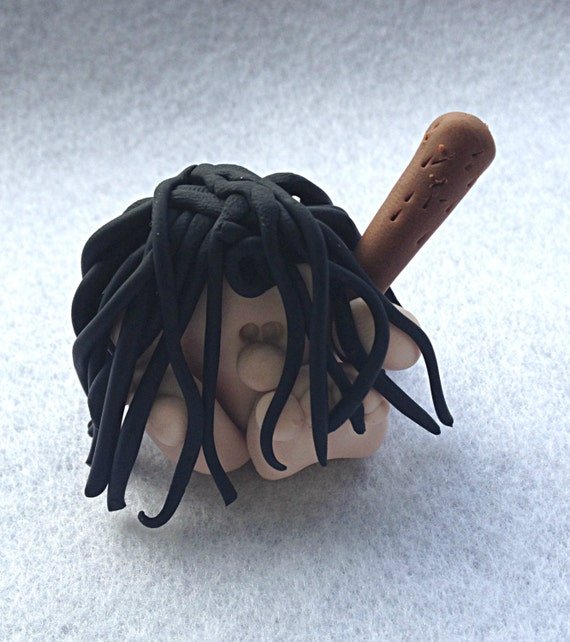 Etsy Caveman Signs : Polymer clay caveman desk buddy by emuart on etsy