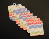 Colorful Gift Tags Set of 8